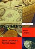 Investments - Vol. I: Portfolio Theory and Asset Pricing