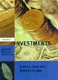 Investments Volume 2 Securities Prices & Per