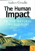 Human Impact on the Natural Environment 5th Edition