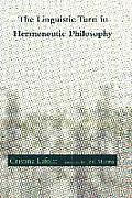 The Linguistic Turn in Hermeneutic Philosophy