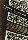 Ornaments of the Metropolis Siegfried Kracauer & Modern Urban Culture