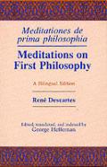 Meditations 1st Philosophy Bilingual Philosophy