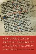 New Directions in Medieval Manuscript Studies and Reading Practices: Essays in Honor of Derek Pearsall