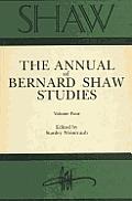 Shaw: The Annual of Bernard Shaw Studies, Vol. 4