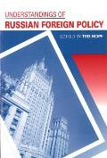 Understandings of Russian Foreign Policy Cover