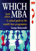 Which Mba A Critical Guide To The Worlds 10th Edition