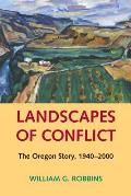 Landscapes of Conflict (Weyerhaeuser Environmental Books) Cover