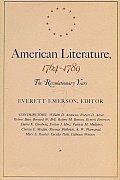 American Literature 1764 1789 The Revolutionary Years