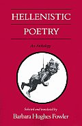 Hellenistic Poetry An Anthology