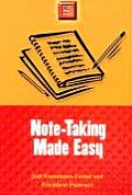 Note-Taking Made Easy