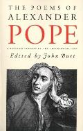 Poems of Alexander Pope : a One-volume Edition of the Twickenham Text With Selected Annotations (63 Edition)