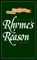 Rhyme's Reason: A Guide to English Verse Cover