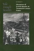 Yale French Studies, 85: Discourses of Jewish Identity in Twentieth-Century France Cover