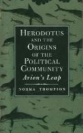 Herodotus and the Origins of the Political Community