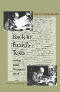 Back to Freud's Texts: Making Silent Documents Speak
