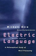 Electric Language: A Philosophical Study of Word Processing