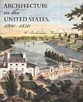 Architecture in the United States, 1800-1850 Cover