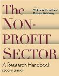 Nonprofit Sector : a Research Handbook (2ND 06 Edition)