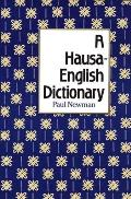 A Hausa-English Dictionary Cover
