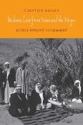 Bedouin Law from Sinai & the Negev: Justice Without Government