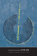 The Poetry of Kabbalah: Mystical Verse from the Jewish Tradition (Margellos World Republic of Letters) Cover