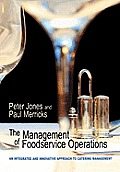The Management of Food Service Operations