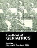 Handbook of Geriatrics