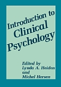 Introduction to Clinical Psychology
