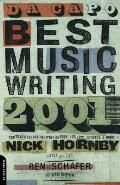 Da Capo Best Music Writing 2001 Cover
