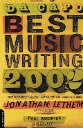 Da Capo Best Music Writing 2002