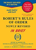 Robert's Rules of Order in Brief (2ND 11 Edition)