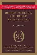 Robert's Rules of Order Newly Revised, 11th Edition (Robert's Rules of Order)