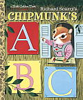 Richard Scarry's Chipmunk's ABC (Little Golden Books)