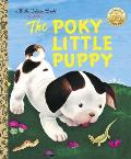 The Poky Little Puppy (Little Golden Book) Cover