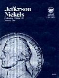 Coin Folders Nickels: Jefferson, 1938-1961 (Official Whitman Coin Folder)