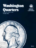 Coin Folders Quarters: Washington, 1932-1947 (Official Whitman Coin Folder)