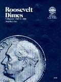 Coin Folders Dimes: Roosevelt, 1946-1964 (Official Whitman Coin Folder)