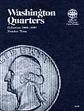 Washington Quarters: Collection 1965-1987, Number Three (Official Whitman Coin Folder)