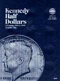 Coin Folders Half Dollars: Kennedy 1964-1985 (Official Whitman Coin Folder)