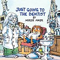 Just Going to the Dentist (Golden Look-Look Books) Cover