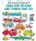 Richard Scarry's Cars and Trucks and Things That Go Cover