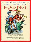 The Golden Books Family Treasury of Poetry with Bookmark