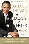 The Audacity of Hope: Thoughts on Reclaiming the American Dream Cover
