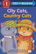 City Cats, Country Cats (Step Into Reading: A Step 1 Book) Cover