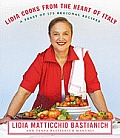 Lidia Cooks from the Heart of Italy: A Feast of 175 Regional Recipes Cover