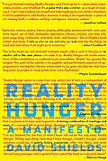 Reality Hunger A Manifesto