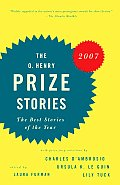 The O. Henry Prize Stories 2007 (Prize Stories: The O. Henry Awards) Cover