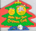 Make Your Own Christmas Cards with Sticker and Cards