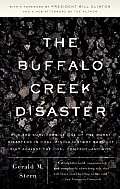 Buffalo Creek Disaster: the Story of the Surviviors' Unprecedented Lawsuit - With New Forward ((Rev)08 Edition) Cover