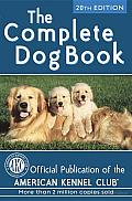 The Complete Dog Book: 20th Edition Cover